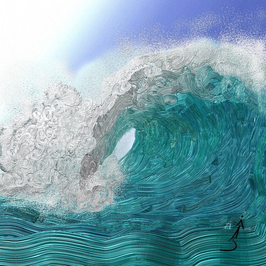 Tidal Wave – Art For Non-Artists