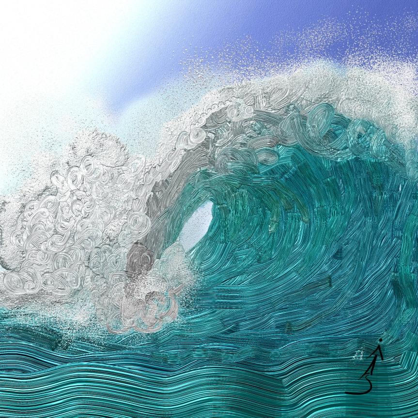 Tidal Wave – Art ForNon-Artists